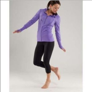 Lululemon define jacket purple